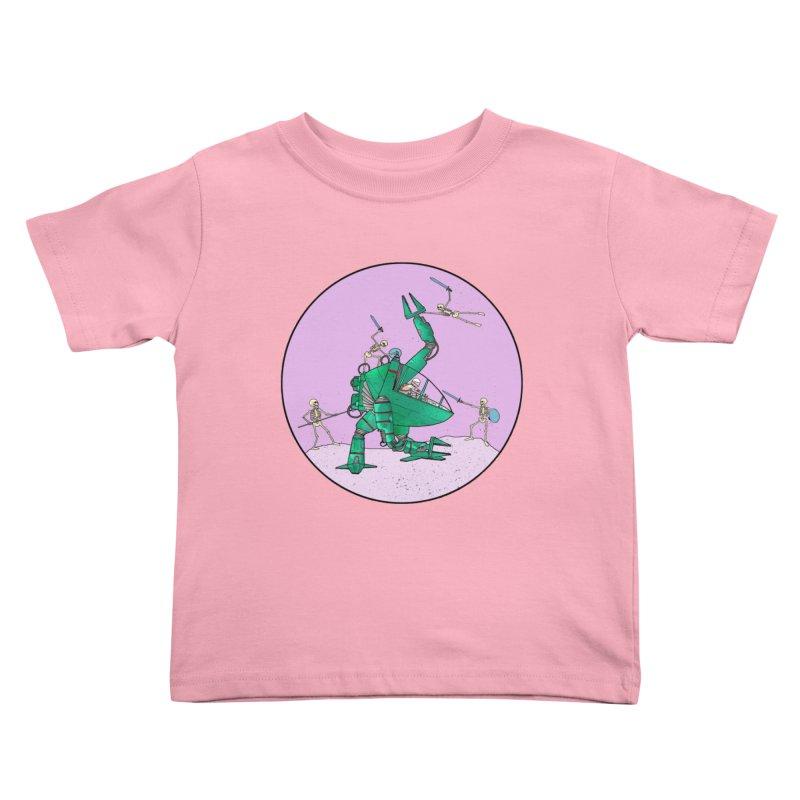 Future Space 3 Kids Toddler T-Shirt by Steven Compton's Artist Shop