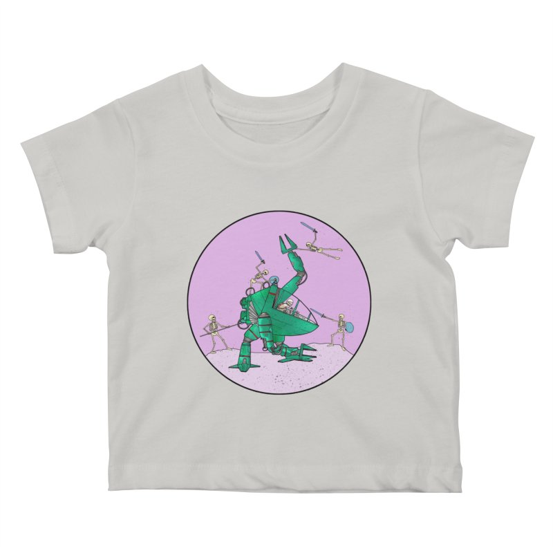 Future Space 3 Kids Baby T-Shirt by Steven Compton's Artist Shop