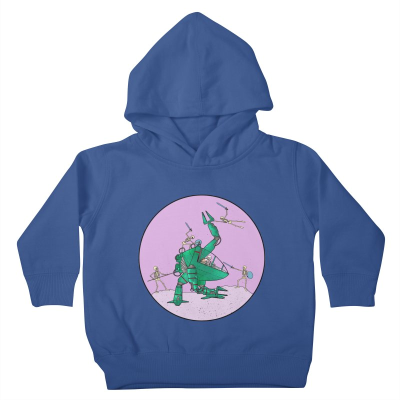 Future Space 3 Kids Toddler Pullover Hoody by Steven Compton's Artist Shop
