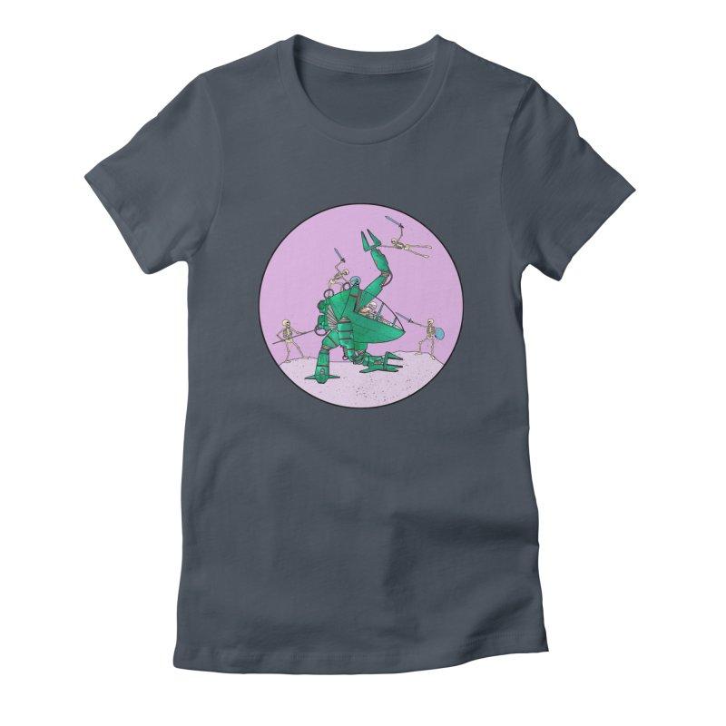 Future Space 3 Women's T-Shirt by Steven Compton's Artist Shop