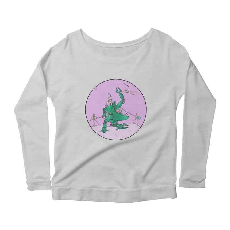 Future Space 3 Women's Scoop Neck Longsleeve T-Shirt by Steven Compton's Artist Shop