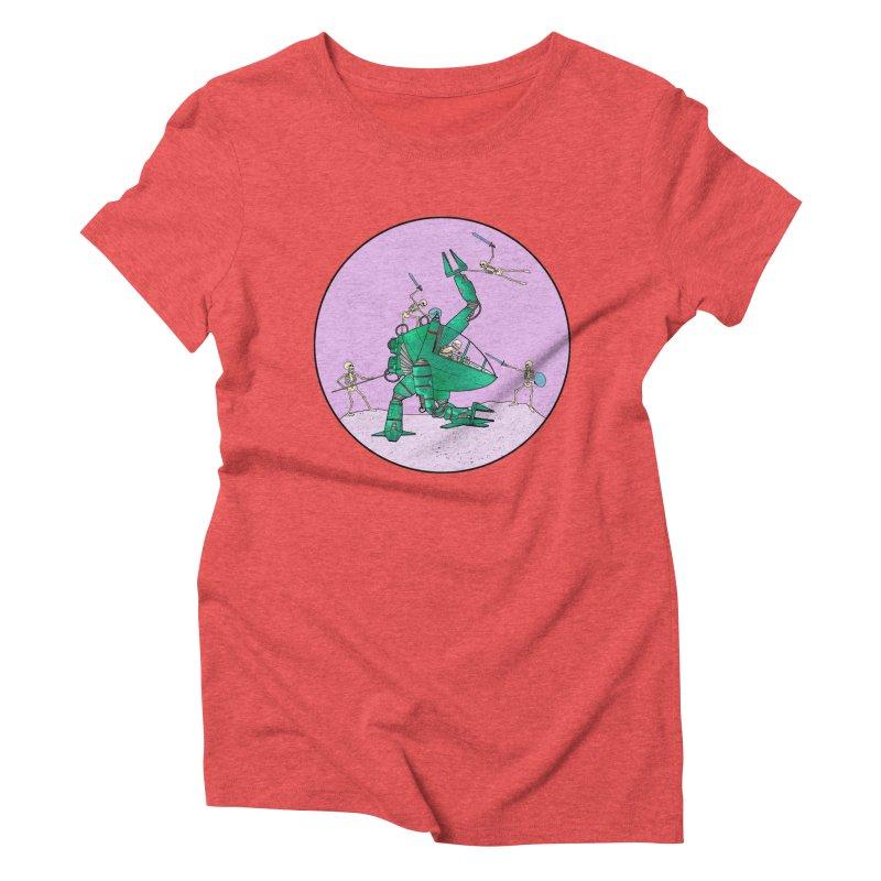 Future Space 3 Women's Triblend T-Shirt by Steven Compton's Artist Shop