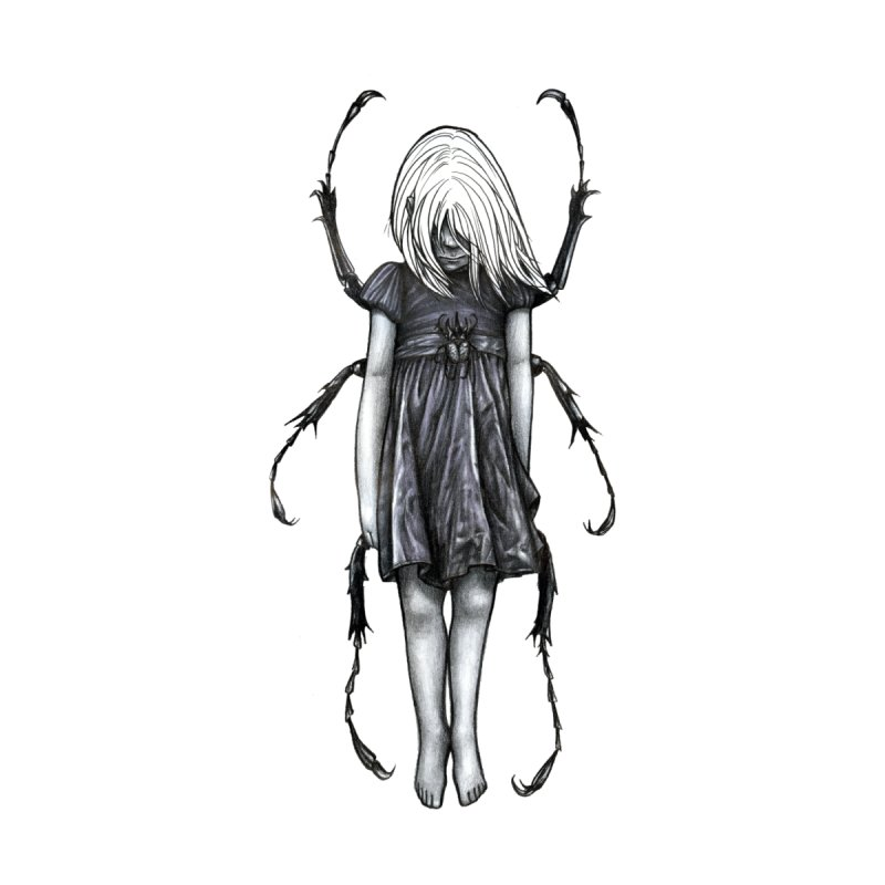 Beetle girl None  by Stevenbossler's Artist Shop