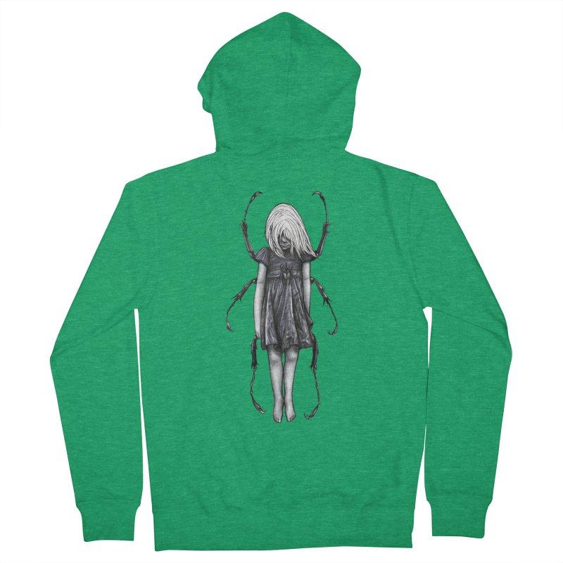 Beetle girl Men's Zip-Up Hoody by Stevenbossler's Artist Shop