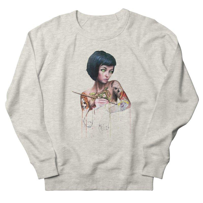 Off-color Clara Women's Sweatshirt by Stevenbossler's Artist Shop