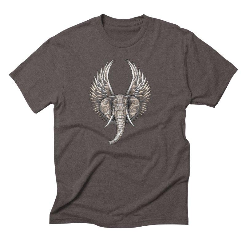 Elepheagle Men's Triblend T-Shirt by Stevenbossler's Artist Shop