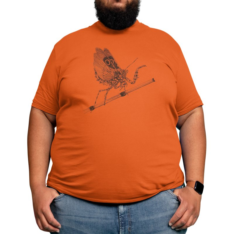 Spiny Mantis Men's T-Shirt by Stippled Science Artist Shop