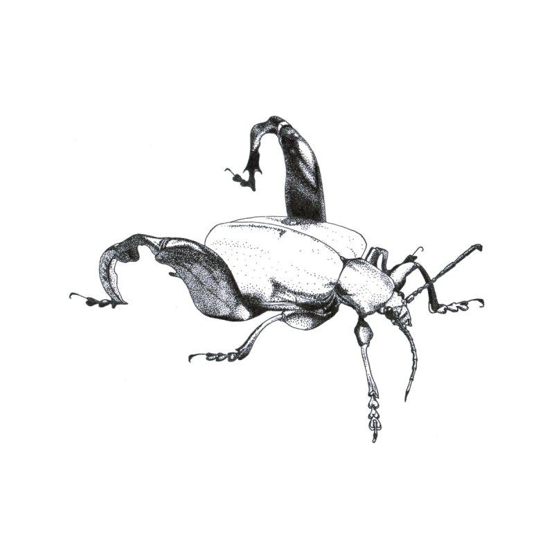 Kermit the Beetle? Men's T-Shirt by Stippled Science Artist Shop