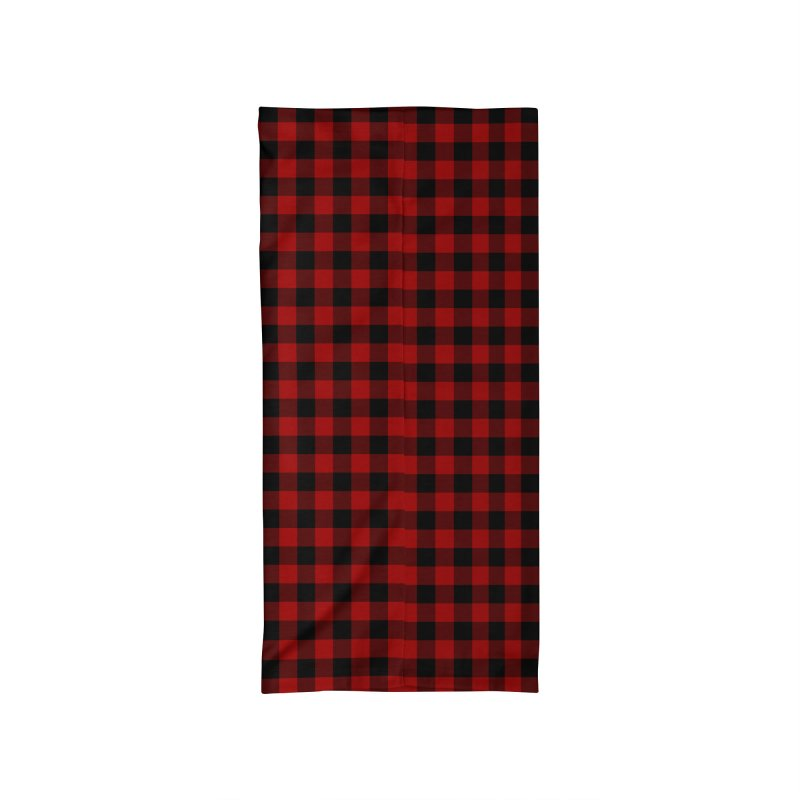 Red Buffalo Plaid Accessories Neck Gaiter by Stockwell