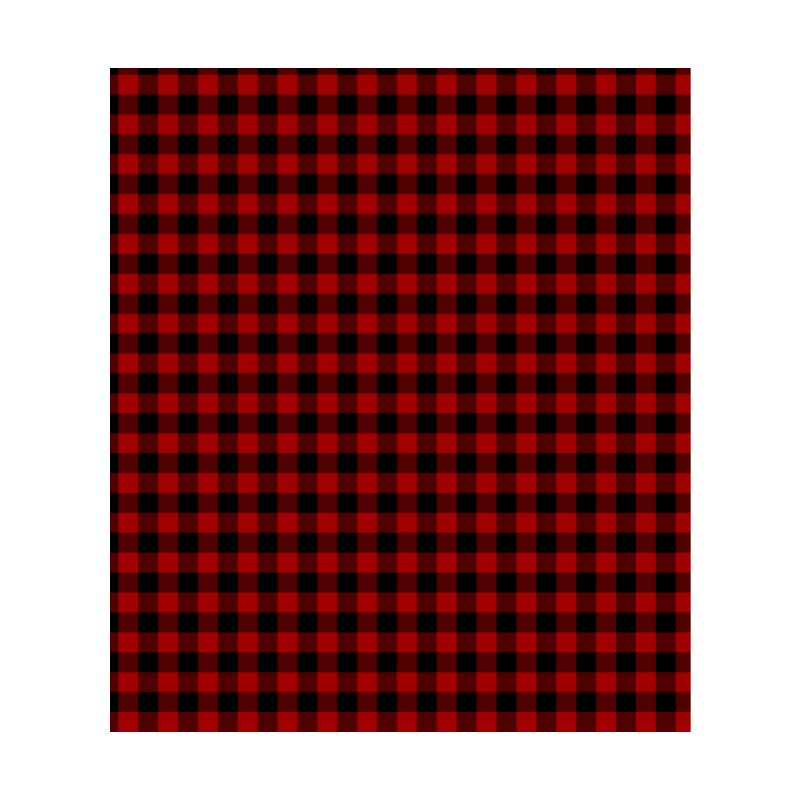 Red Buffalo Plaid Accessories Face Mask by Stockwell