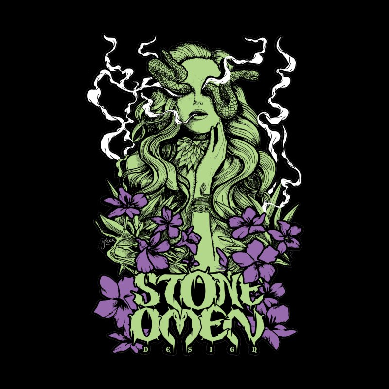 Stone Omen Snake Witch Design Stone Omen Designs