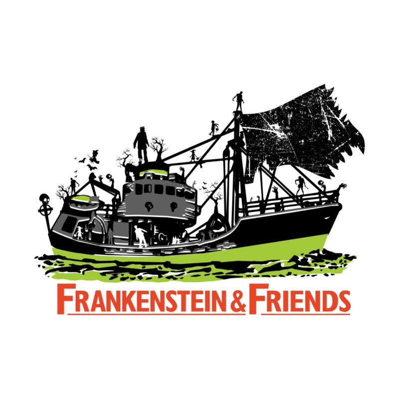 Frankenstein & Friends Men's Pullover Hoody by Stor's Artist Shop