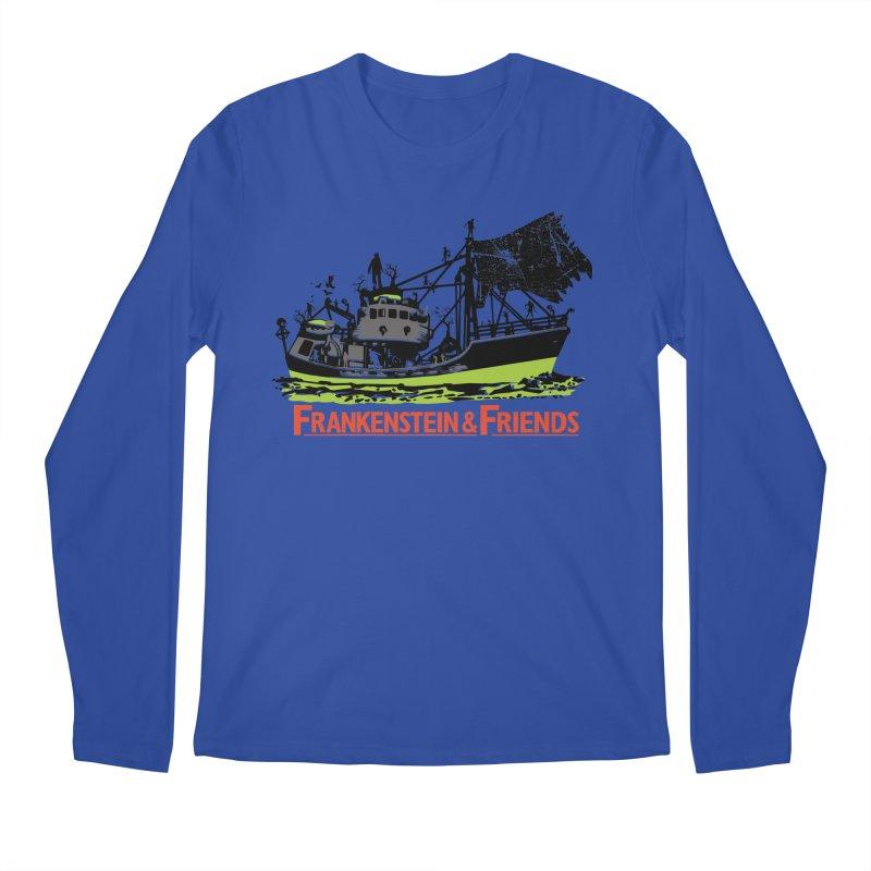 Frankenstein & Friends Men's Longsleeve T-Shirt by Stor's Artist Shop