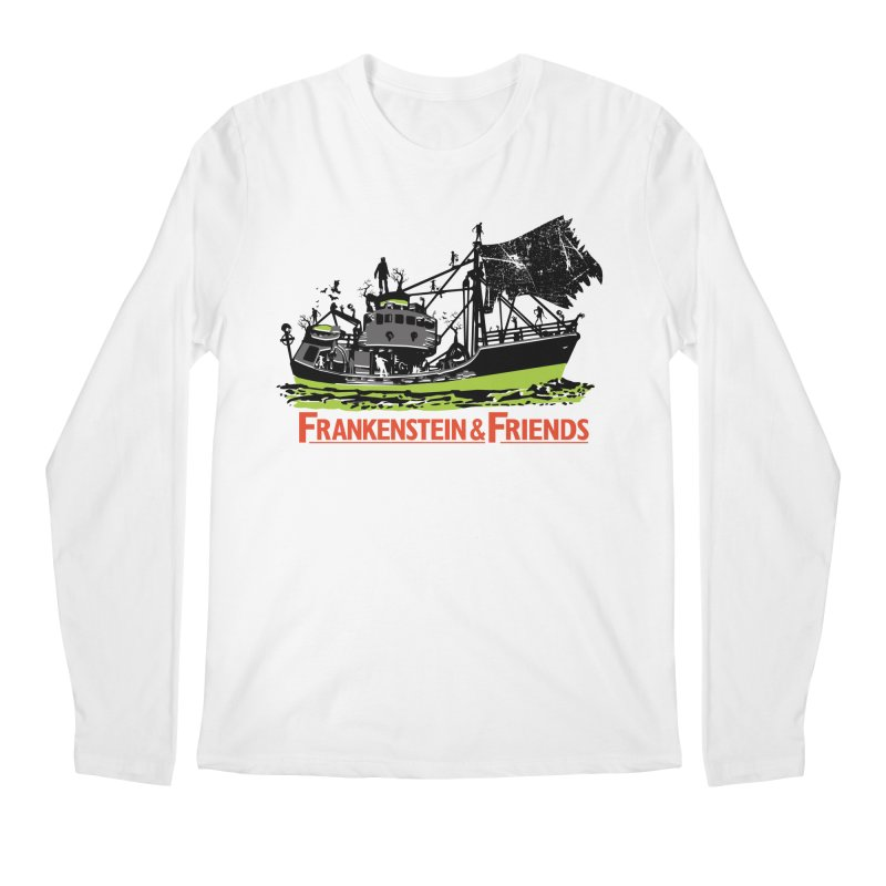 Frankenstein & Friends Men's Longsleeve T-Shirt by Stor's Artist Shop