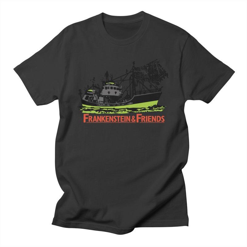 Frankenstein & Friends Men's T-Shirt by Stor's Artist Shop