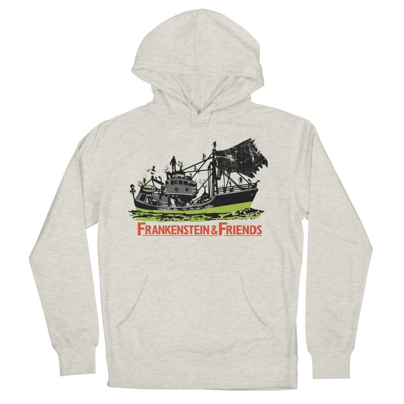 Frankenstein & Friends Men's French Terry Pullover Hoody by Stor's Artist Shop