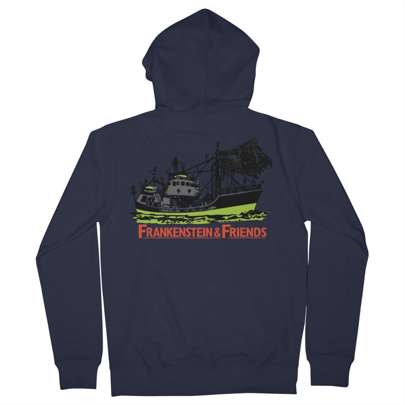 Frankenstein & Friends Women's Zip-Up Hoody by Stor's Artist Shop