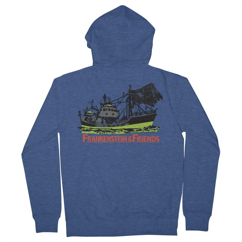 Frankenstein & Friends Men's Zip-Up Hoody by Stor's Artist Shop