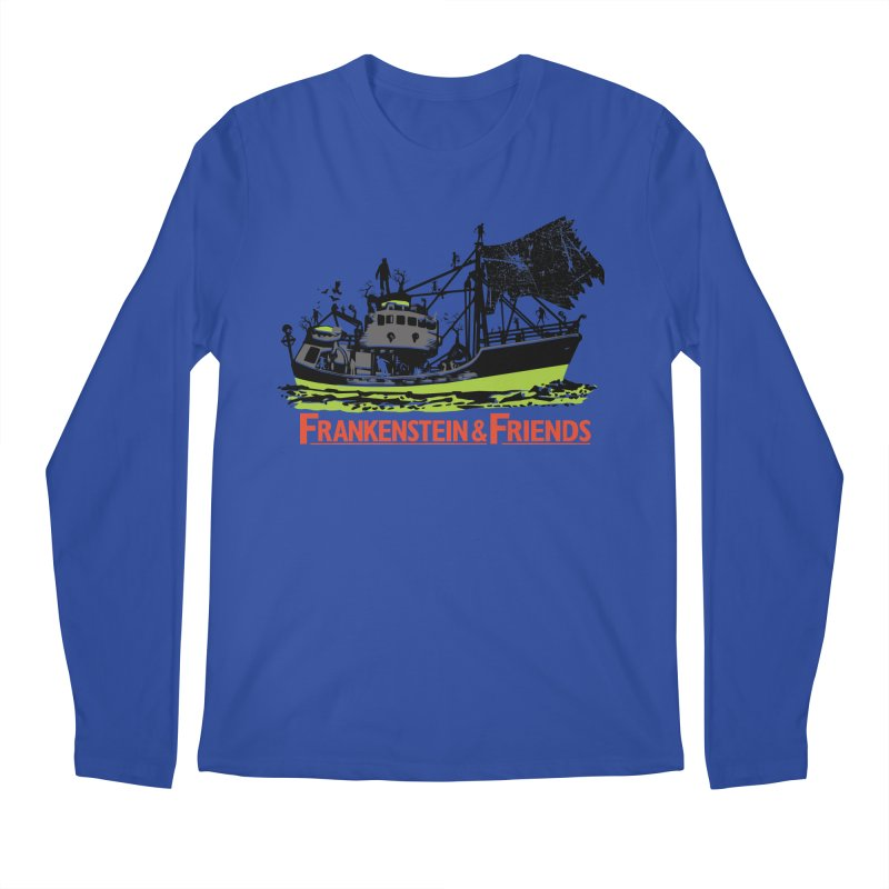 Frankenstein & Friends Men's Regular Longsleeve T-Shirt by Stor's Artist Shop