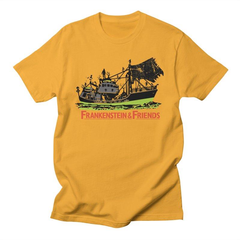Frankenstein & Friends Men's Regular T-Shirt by Stor's Artist Shop
