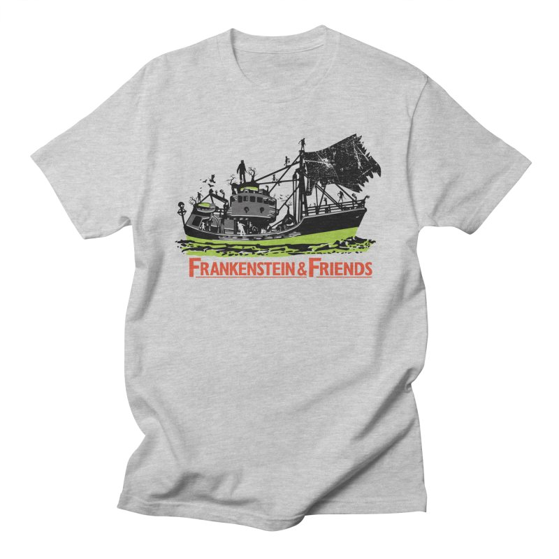 Frankenstein & Friends Men's Regular T-Shirt by Stor's Artist Shop