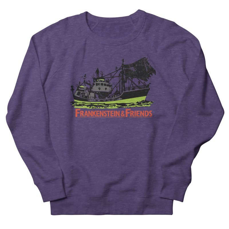 Frankenstein & Friends in Men's Sweatshirt Heather Purple by Stor's Artist Shop