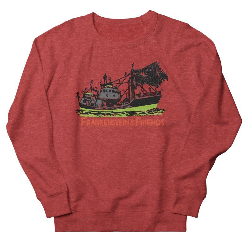 Frankenstein & Friends Men's French Terry Sweatshirt by Stor's Artist Shop