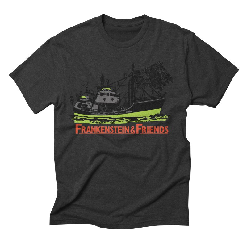 Frankenstein & Friends Men's Triblend T-shirt by Stor's Artist Shop