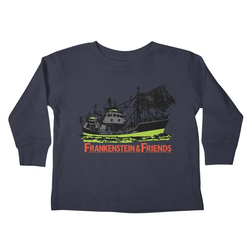 Frankenstein & Friends Kids Toddler Longsleeve T-Shirt by Stor's Artist Shop