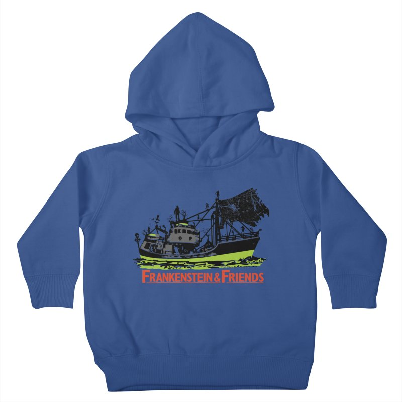 Frankenstein & Friends Kids Toddler Pullover Hoody by Stor's Artist Shop