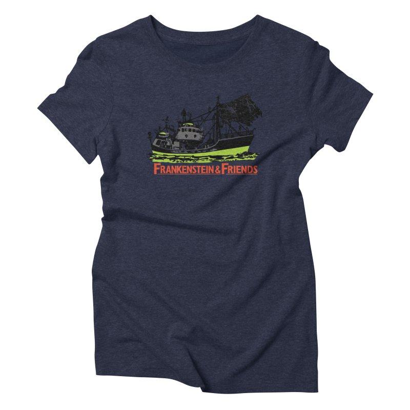 Frankenstein & Friends Women's T-Shirt by Stor's Artist Shop