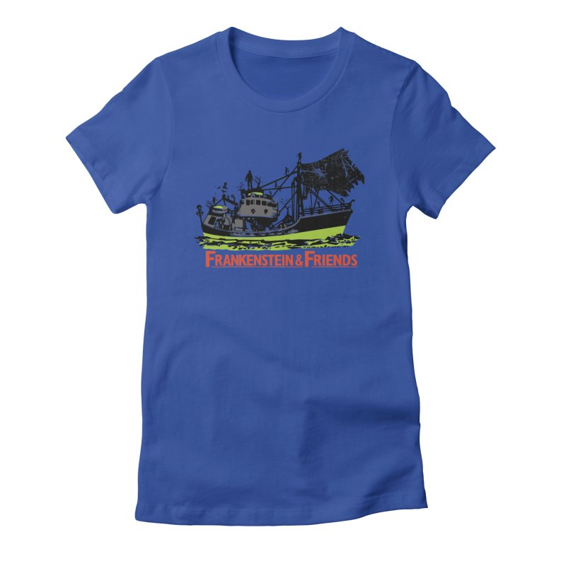 Frankenstein & Friends Women's Fitted T-Shirt by Stor's Artist Shop
