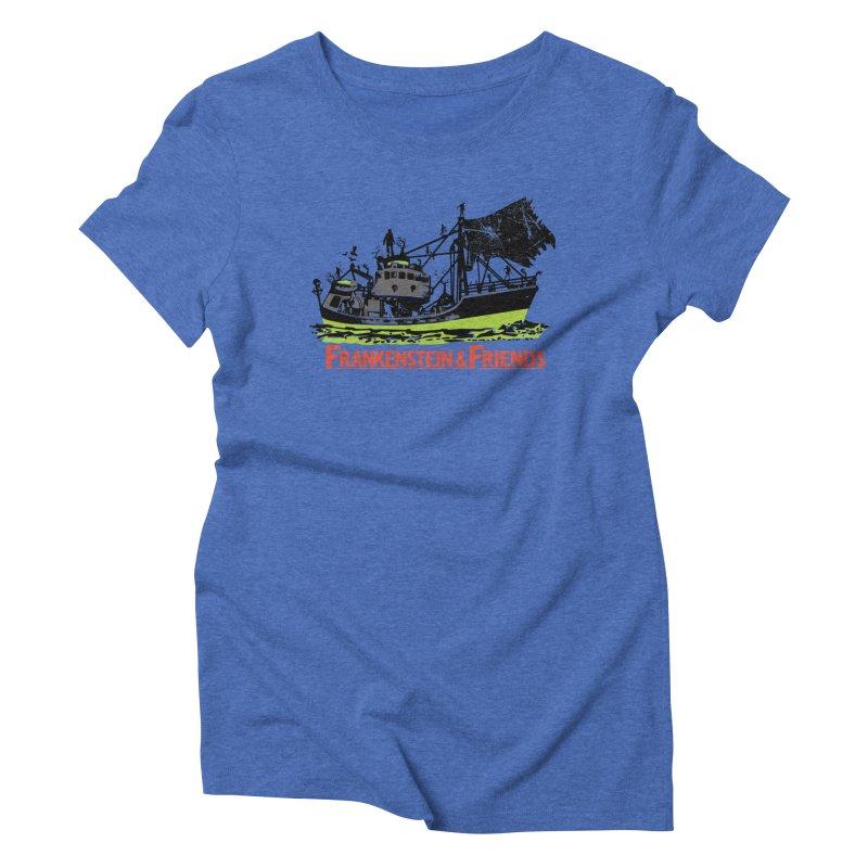 Frankenstein & Friends Women's Triblend T-shirt by Stor's Artist Shop