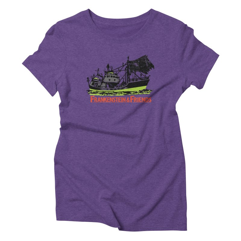 Frankenstein & Friends Women's Triblend T-shirt by Stor's Artist Shop