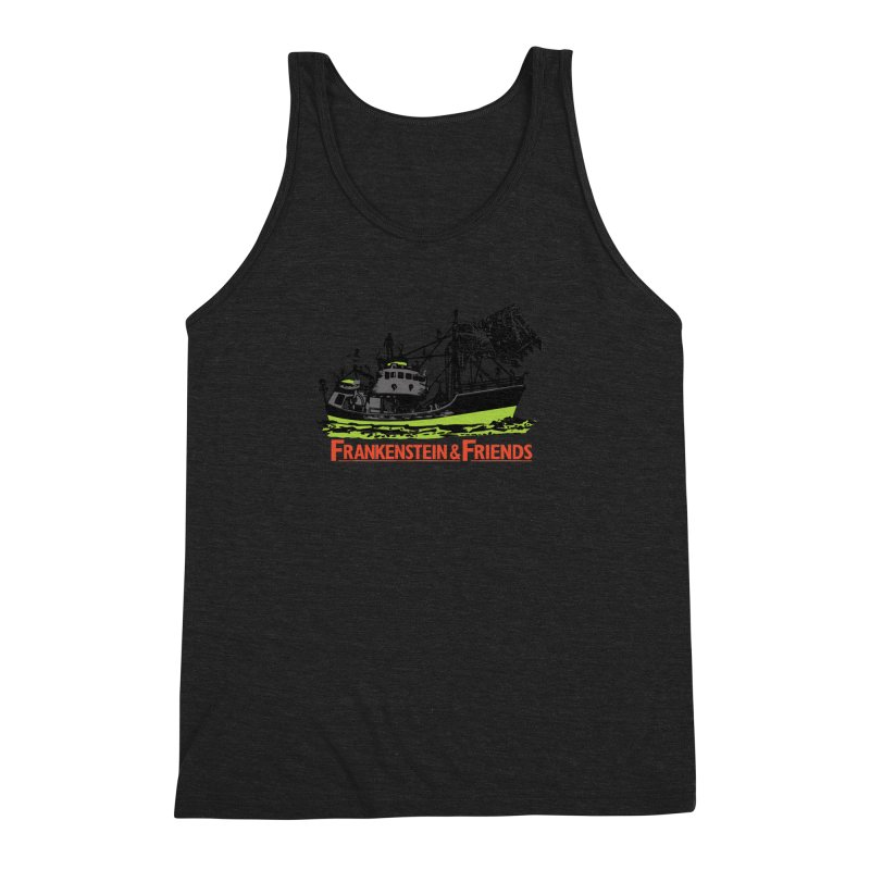 Frankenstein & Friends Men's Triblend Tank by Stor's Artist Shop
