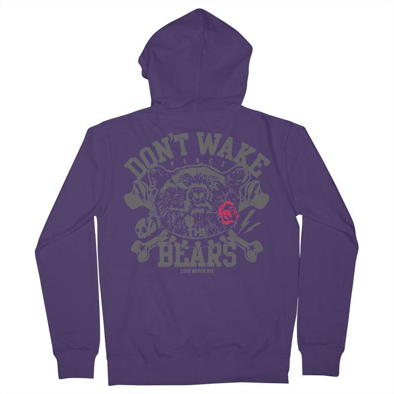 Rock the Bear Women's Zip-Up Hoody by Stor's Artist Shop