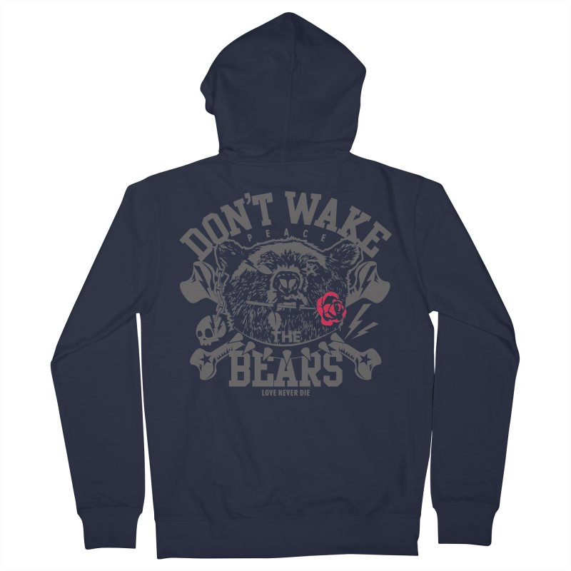 Rock the Bear Women's Zip-Up Hoody by Stor's Artist Shop