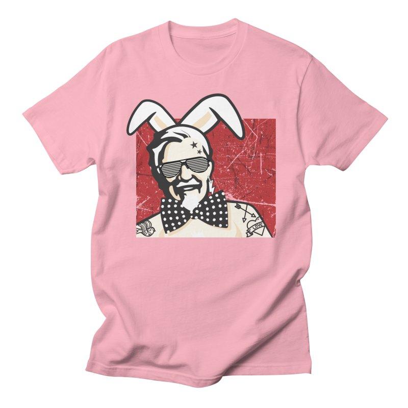 Rocking Mr.Sanders Men's T-Shirt by Stor's Artist Shop