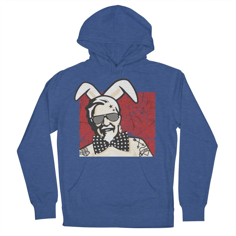 Rocking Mr.Sanders Men's French Terry Pullover Hoody by Stor's Artist Shop
