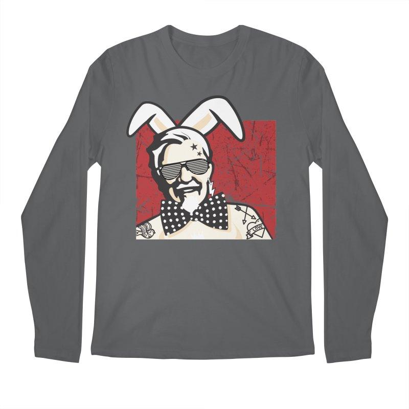 Rocking Mr.Sanders Men's Regular Longsleeve T-Shirt by Stor's Artist Shop