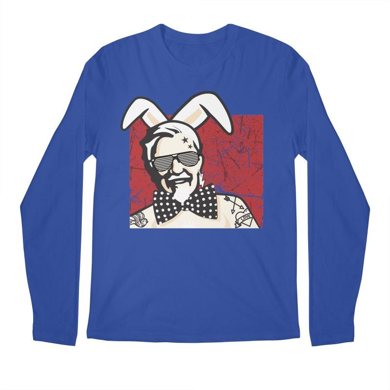 Rocking Mr.Sanders Men's Longsleeve T-Shirt by Stor's Artist Shop