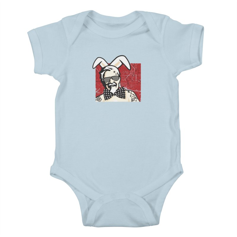Rocking Mr.Sanders Kids Baby Bodysuit by Stor's Artist Shop