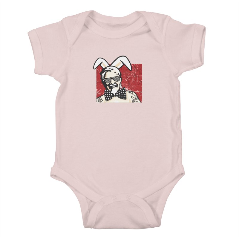 Rocking Mr.Sanders Kids Baby Bodysuit by Stor's Artist Shop