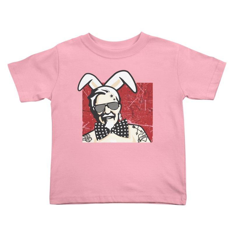 Rocking Mr.Sanders Kids Toddler T-Shirt by Stor's Artist Shop