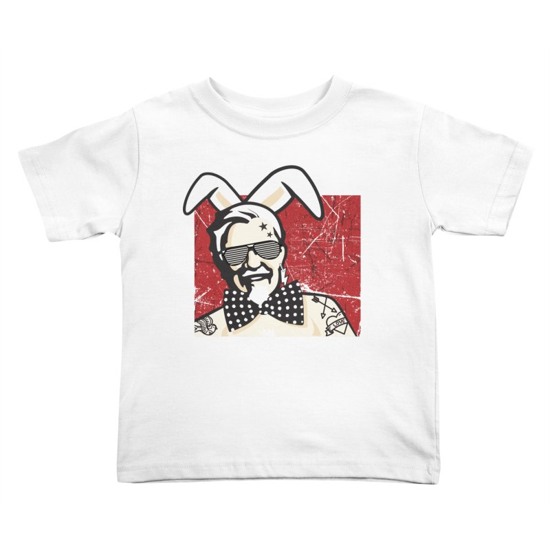 Rocking Mr.Sanders Kids Toddler T-Shirt by Stor's Artist Shop