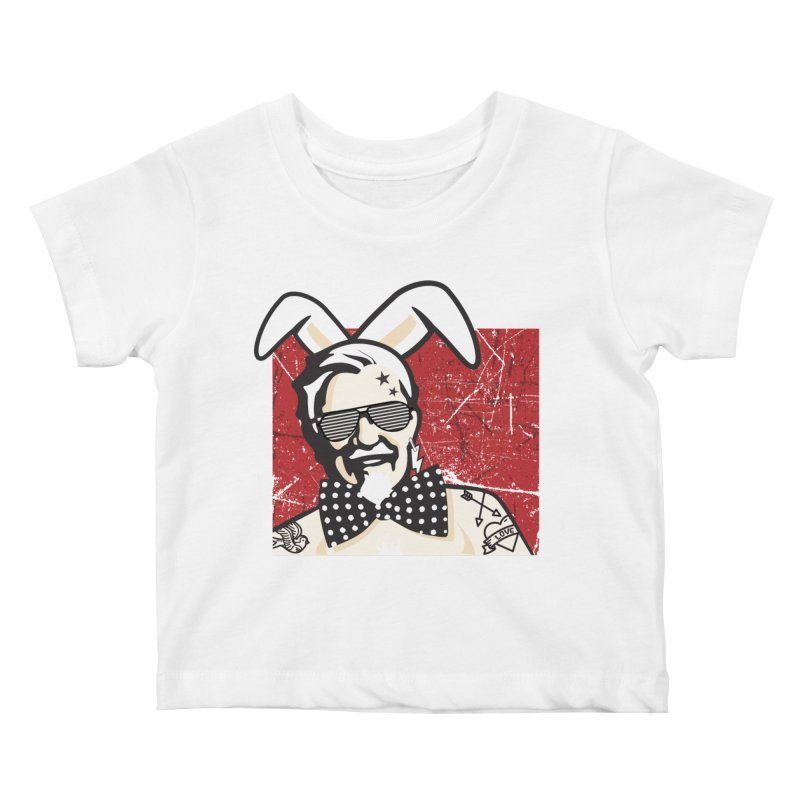 Rocking Mr.Sanders Kids Baby T-Shirt by Stor's Artist Shop