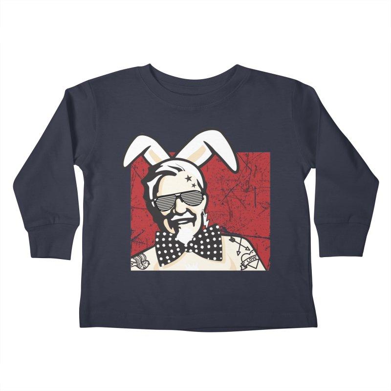Rocking Mr.Sanders Kids Toddler Longsleeve T-Shirt by Stor's Artist Shop
