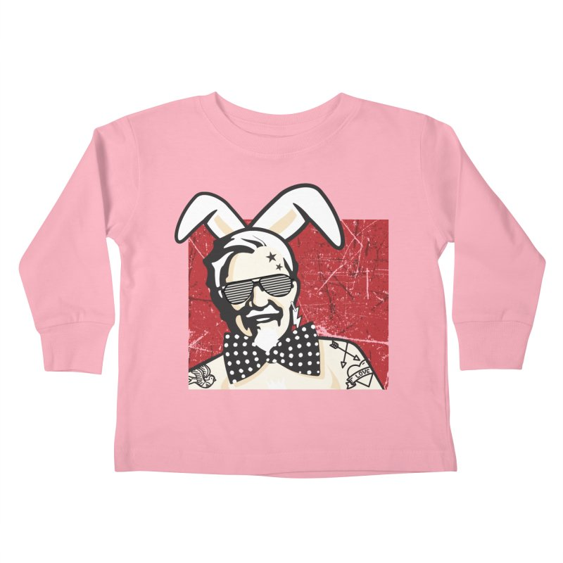 Rocking Mr.Sanders Kids Toddler Longsleeve T-Shirt by Stor's Artist Shop