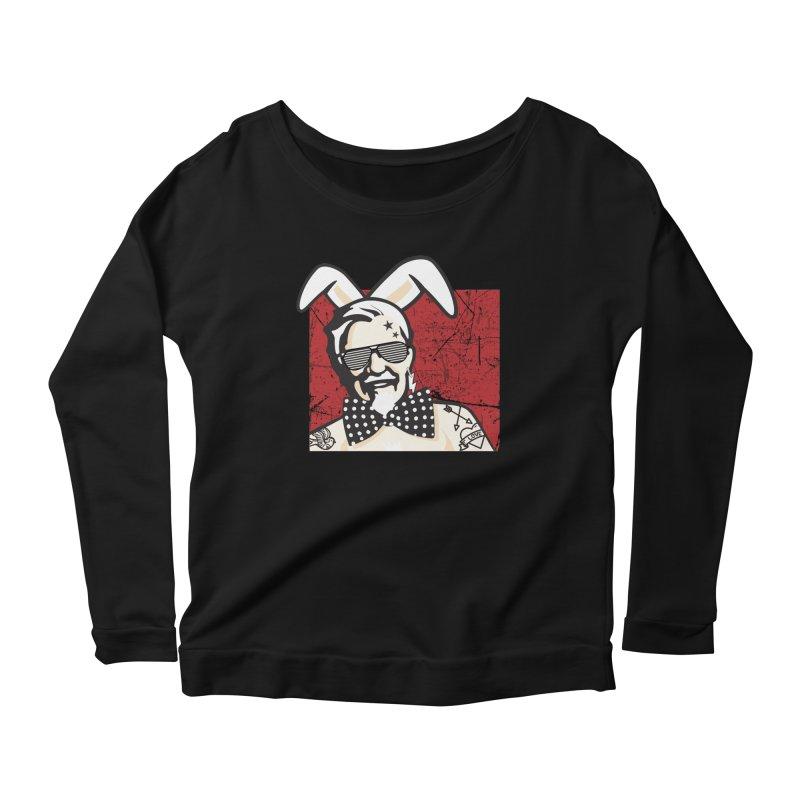 Rocking Mr.Sanders Women's Scoop Neck Longsleeve T-Shirt by Stor's Artist Shop