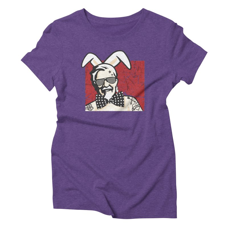 Rocking Mr.Sanders Women's Triblend T-Shirt by Stor's Artist Shop
